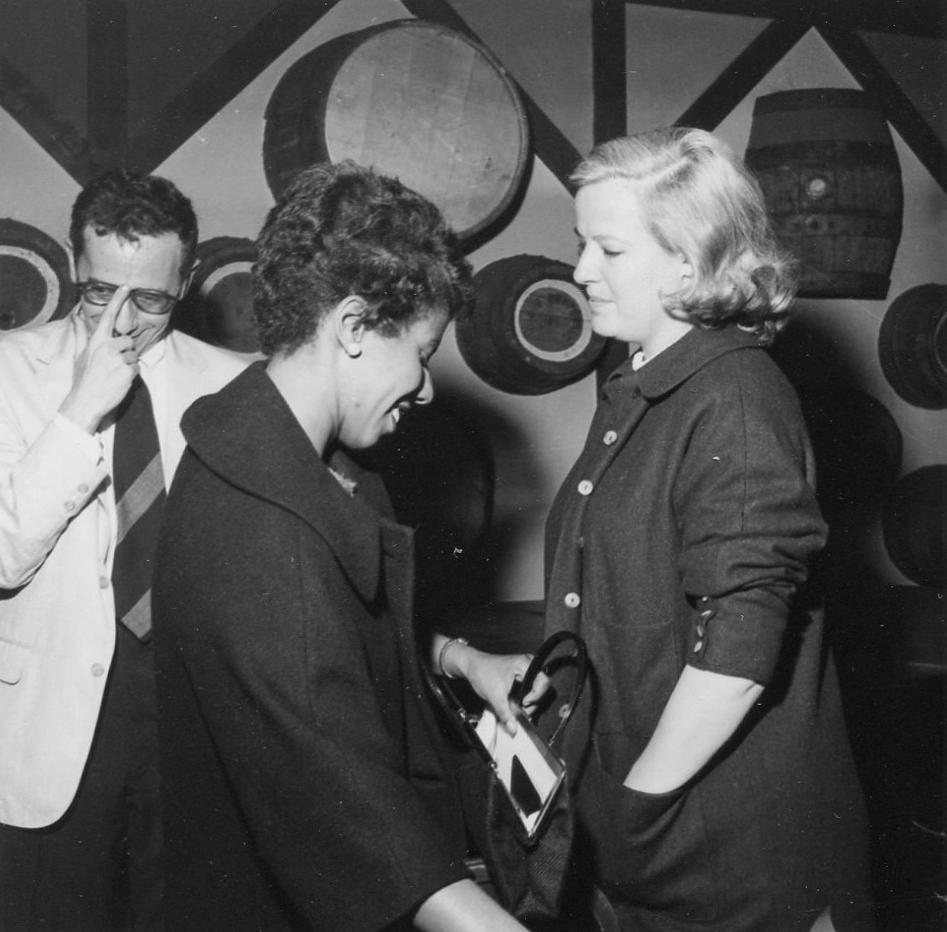 Lorraine Hansberry And Robert Nemiroff